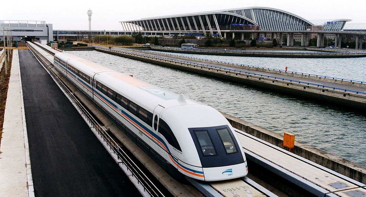 maglev fastest train shanghai