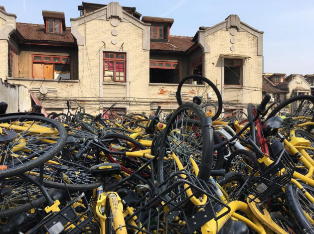 ofo mobike shared bikes china