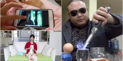 china short video stars viral